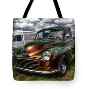 Metallic Morris  Tote Bag