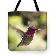 Metallic Red Head Tote Bag
