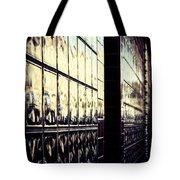 Metallic Reflections Tote Bag