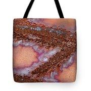 Metallic Scars Tote Bag