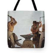 Metallurgy Tote Bag