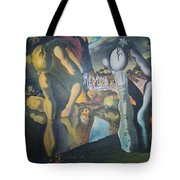 Metamophosis Of Narcissus Tote Bag