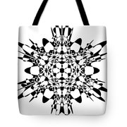 Metatron Cube A Version Tote Bag