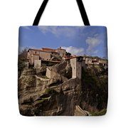 Meteora Monastary   #9793 Tote Bag