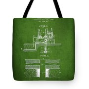 Method Of Drilling Wells Patent From 1906 - Green Tote Bag