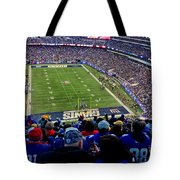 Metlife Stadium Tote Bag