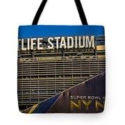 Metlife Stadium Super Bowl Xlviii Ny Nj Tote Bag