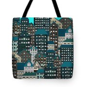 Metropolis Eight Tote Bag