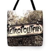 Metropolitain Tote Bag