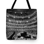 Metropolitan Opera House 1937 Tote Bag