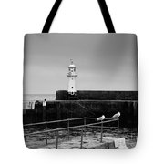 Mevagissey Lighthouse Tote Bag