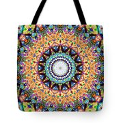 Mexican Ceramic Kaleidoscope Tote Bag