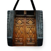 Mexican Door 68 Tote Bag