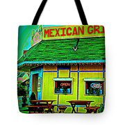 Mexican Grill Tote Bag by Chris Berry
