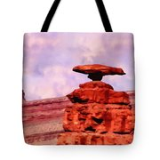 Mexican Hat Rock Tote Bag