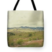 Mexican Mountains Tote Bag