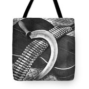 Mexican Revolution Guitar, Sickle Tote Bag