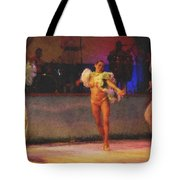 Mexican Traditional Dancers Tote Bag