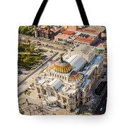 Mexico City Fine Arts Museum Tote Bag by Jess Kraft