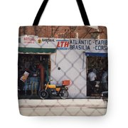 Mexico Tiendas Shops By Tom Ray Tote Bag
