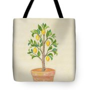 Meyer Lemon Tree Tote Bag