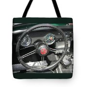 Mg Midget Instrument Panel Tote Bag