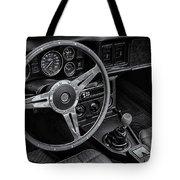 Mg Midget Interior Bw Tote Bag