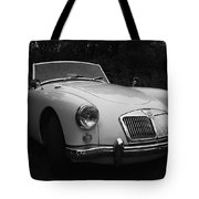 Mg - Morris Garages Tote Bag