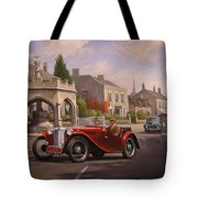 Mg Tc Sports Car Tote Bag