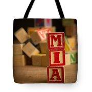 Mia - Alphabet Blocks Tote Bag