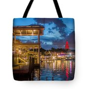 Miami Bayside Freedom Tower Tote Bag