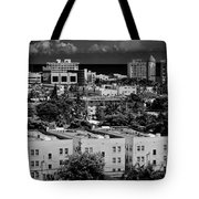 Miami Beach - 0156bw Tote Bag