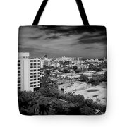 Miami Beach - 0153bw Tote Bag