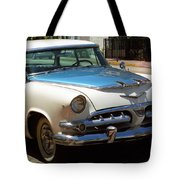 Miami Beach Classic Car 2 Tote Bag