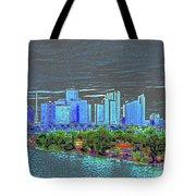 Miami Color Tote Bag
