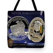 Miami Dade Police Memorial Tote Bag by Gary Yost
