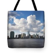 Miami Downtown In Slow Tote Bag by Eyzen M Kim