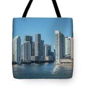Miami Skyline, Miami-dade County Tote Bag