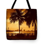 Miami South Beach Romance II Tote Bag