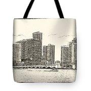 Miami - Venetian Causeway Tote Bag