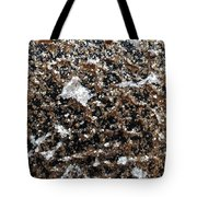 Mica Trial Gold With Pearl Tote Bag