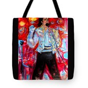 Michael Jackson I'll Be There Tote Bag