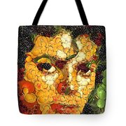 Michael Jackson In The Way Of Arcimboldo Tote Bag