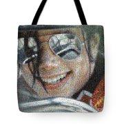 Michael Jackson - Mosaic Tote Bag