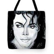Michael Jackson Portrait Tote Bag