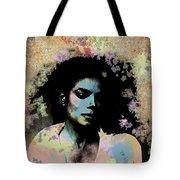 Michael Jackson - Scatter Watercolor Tote Bag
