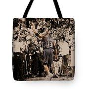 Michael Jordan Last Game II Tote Bag