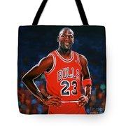 Michael Jordan Tote Bag