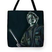 Michael Myers Tote Bag