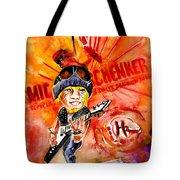 Michael Schenker In Dublin Tote Bag